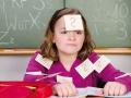 Schulkind mit Rechenschwäche